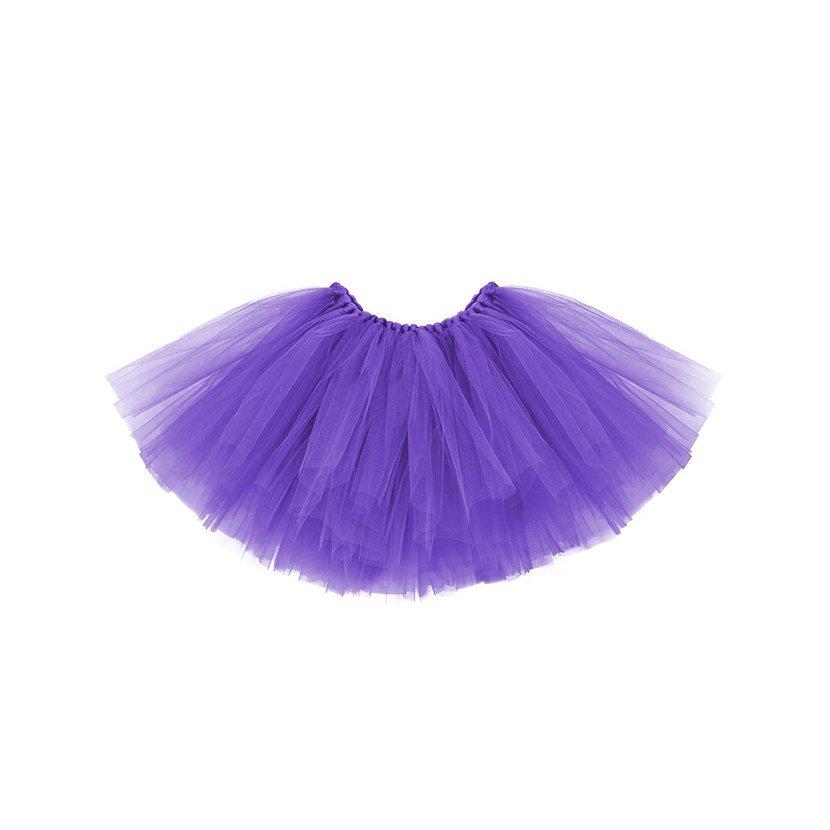 f8f3f01da005 Tylová sukně dětská 50x25cm FIALOVÁ - Obr. 1