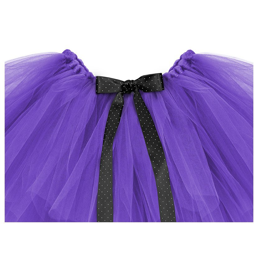 3e983ca424f1 Tylová sukně 95x36cm FIALOVÁ - Obr. 3